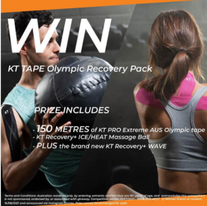 KT Tape Australia – Win the Ultimate Olympic Recovery prize pack