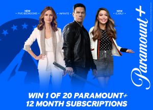 Network 10 – Win 1 of 20 subscriptions for 12 months to Paramount + Australia