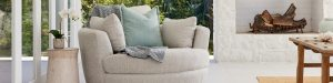 Plush think sofas – Win 1 of 2 Snuggle Sofa Swivel chairs valued at $2,598 each