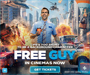 Radio Network – Win 1 of 20 prize packs including a $100 Visa gift card PLUS a double ticket to see Disney 'Free Guy'