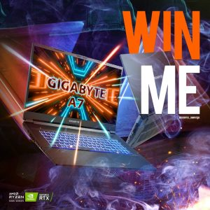 Scorptec computers – Win a Gigabyte A7 X1 Gaming laptop