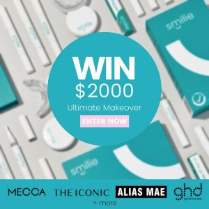 Smilie – Win the Ultimate makeover valued at $2,000