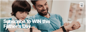 Stockland – Win 1 of 10 Stockland gift cards for Dads