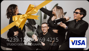 Studio1000 Photography – Win 1 of 3 Visa gift cards valued at $200