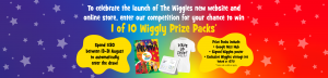 The Wiggles Store – Win 1 of 10 Wiggly prize packs valued at $275 each