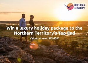 Webjet – Win a 6-night luxury holiday for 2 to the Northern Territory's Top End