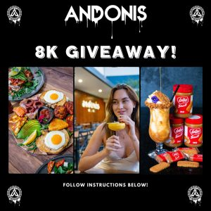 Andonis Cafe & Bar – Win a Free brekky PLUS hot or cold drink for you and your buddy