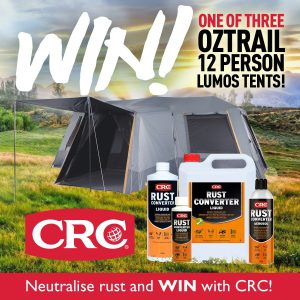 CRC Industries Australia – Win 1 of 3 luxury tents valued at $1,379