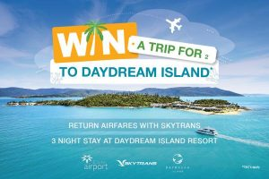 Cairns Airport – Win a trip for 2 to Whitsunday Coast from Cairns Airport