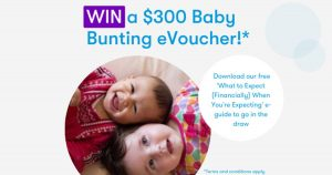 Canstar Blue – Win a $300 Baby Bunting e-voucher