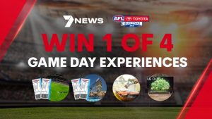 Channel 7 – 7NEWS Perth AFL Grand Final – Win 1 of 4 Staycation prize packs