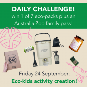 Green Heart Fair – Win 1 of 7 eco prize packs PLUS a Family pass to Australia Zoo