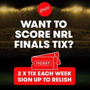 Grill'd – Win 2 NRL Finals tickets to the Melbourne Storm vs. Manly Sea Eagles at Sunshine Coast Stadium on Friday 10th September