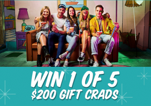 Holey Moley – Win 1 of 5 Funlab gift cards valued at $200 each