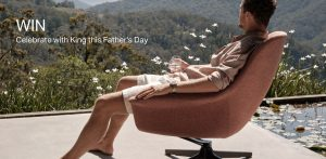 King Living – Win an armchair of your choice valued up to $4,900