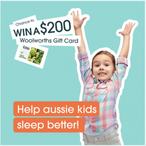 Nebula Health – The Great Australian Sleep Survey – Win 1 of 10 Woolworths gift cards valued at $200 each