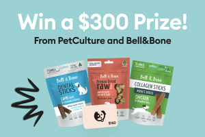 PetCulture & Bell & Bone – Win 1 of 2 prize packs valued at $300 each