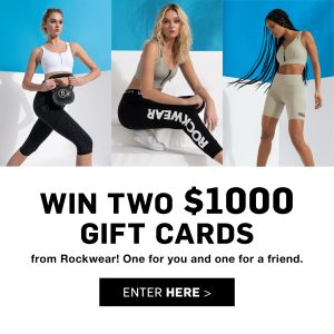 Rockwear – Win 2 gift cards valued at $1,000 each