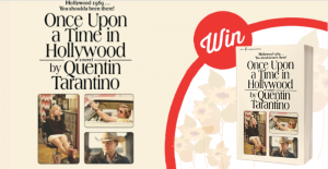 Stack – Win 1 of 12 copies of the Once Upon a Time in Hollywood paperback novel