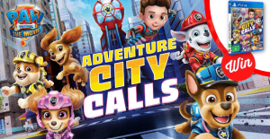 Stack – Win 1 of 5 copies of PAW Patrol Adventure City Calls for PS4
