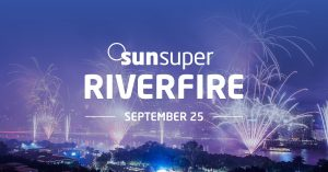 Sunsuper – Win 1 of 50 prizes of 2 tickets each to the Sunsuper Riverfire Dream Party on 25th September