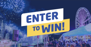 Sunsuper – Win 1 of 100 prize packs of 4 VIP spots at either Captain Burke Park or Kangaroo Point