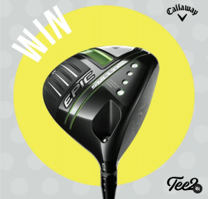 Tee 2 Golf – Win an Epic Speed Driver valued at $869 PLUS OR 1 of 3 prize packs