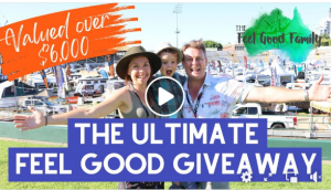 The Feel Good Family – Win the Ultimate Feel Good prize pack valued at $6,000 PLUS an Apollo Motorhome Holidays Rental voucher, a GoPro 9 camera and more