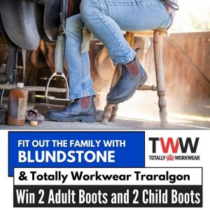 Totally Workwear Traralgon – Win Blundstone Australia 600 series elastic-sided boots for a family of 4 (2 adults and 2 children)
