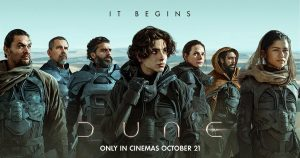 Universal Pictures – Win 1 of 100 double tickets to attend a preview screening of Dune in the winner's state.