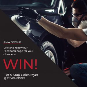 AMA Group – Win 1 of 5 Coles Myer gift vouchers valued at $100 each