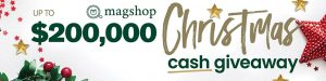 ARE Media – Instant Win 1 of 2,000 Visa or Mastercard gift cards valued at $100 each