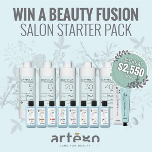 Artego Haircare Australia – Win a Beauty Fusion Salon Starter prize pack valued at $2,550