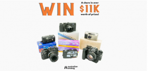 Australian Analog – Win a share of $11,000 worth of prizes