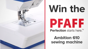 Channel Seven – Sunrise Family Newsletter – Win a PFAFF Ambition 610 sewing machine valued at $1,590