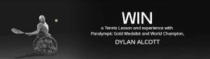 Coloplast – Win a trip to Melbourne for 2, accommodation and a one-hour experience with Dylan Alcott for a private tennis lesson