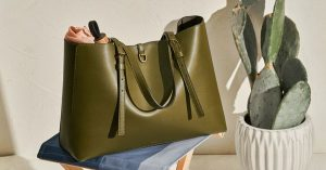 Fossil – Win a Kier Vegan Cactus tote valued at $499 OR 1 of 3 cash coupons valued at $60 each