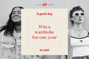 H&M – Win a wardrobe for one year