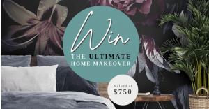 Mint Art Co – Win the Ultimate Home Style Makeover valued at $750