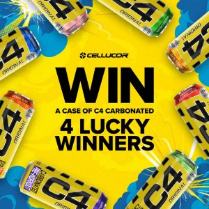 Nutrition Systems – Win 1 of 4 prize packs of C4 Carbonated Pre-workout