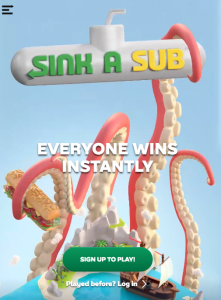 Subway – Win 1 of 6 cash prizes valued at $10,000 each OR many other minor prizes