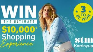 The West Australian – Win 1 of 3 Karrinyup Shopping Centre gift cards valued at $10,000 each