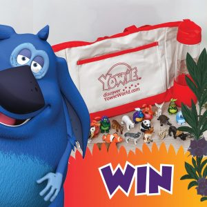 Yowie World – Win a canvas bag, a water bottle PLUS a full set of Yowie collectible toys